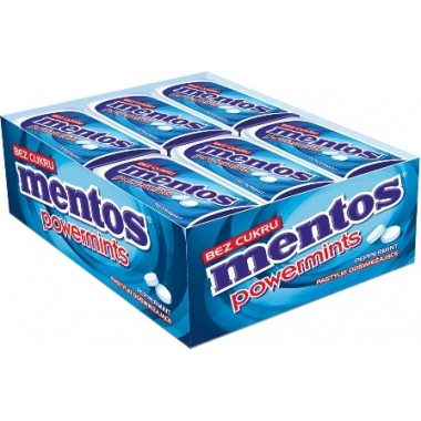 Mentos Powermints Peppermint  /24